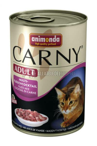Animonda macskaeledel - Carny Adult Vegyeshús macskakonzerv 400g