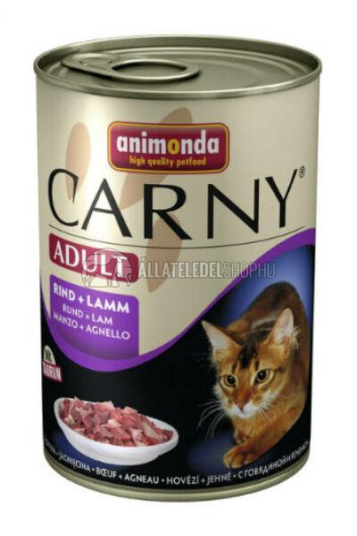 Animonda macskaeledel - Carny Adult Marha & Bárány macskakonzerv 400g