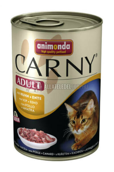 Animonda macskaeledel - Carny Adult Csirke & Kacsa macskakonzerv 400g