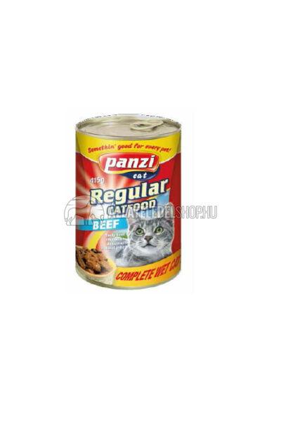 Panzi macskaeledel - Cat Marhás macskakonzerv 415g