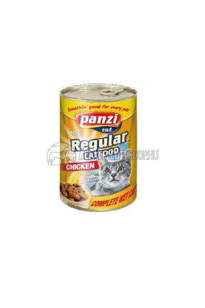 Panzi macskaeledel - Cat Csirkés macskakonzerv 415g
