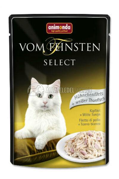 Animonda macskaeledel - Vom Feinsten Select Csirke & Tonhal alutasakos macskáknak 85g