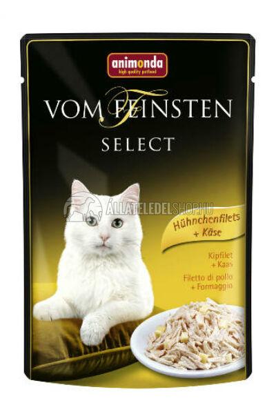 Animonda - Vom Feinstenselect Csirke & Sajt alutasakos macskáknak 85g