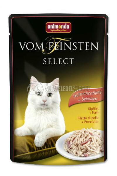 Animonda macskaeledel - Vom Feinsten Select Csirke & Sonka alutasakos macskáknak 85g
