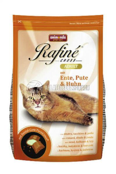 Animonda macskaeledel -  Rafine Cross Adult Kacsa - Pulyka - Csirke macskatáp 1,5kg