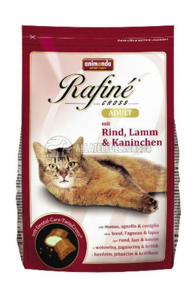 Animonda macskaeledel -  Rafine Cross Adult Marha - Bárány - Nyúl macskatáp 1,5kg