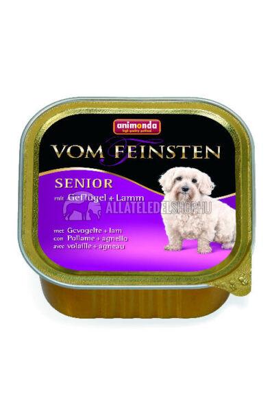 Animonda - Vom Feinsten Senior Baromfi & Bárány alutasakos kutyáknak 150g