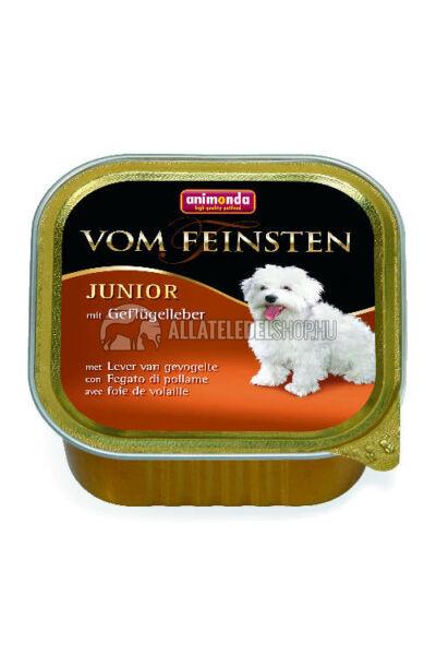 Animonda - Vom Feinsten Junior Baromfimáj alutasakos kutyáknak 150g