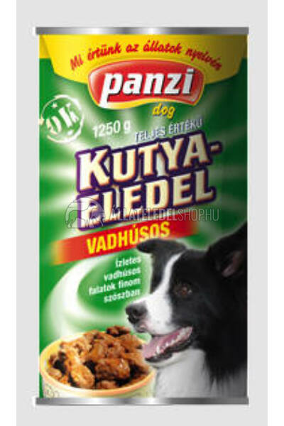 Panzi - Dog Regular Vadas kutyakonzerv 415g