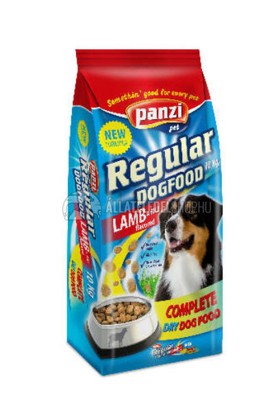 Panzi - Dog Regular Lamb Bárány & Rizs kutyatáp 10kg