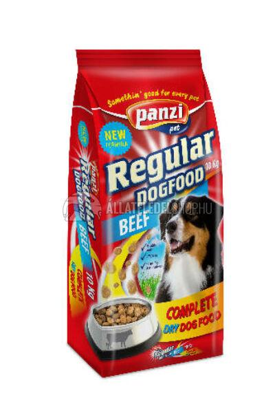 Panzi - Dog Regular Beef Marhás kutyatáp 10kg