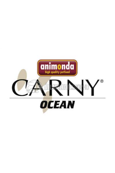 Animonda macskaeledel - Carny Ocean Fehér Tonhal & Fürjtojás macskakonzerv 80g