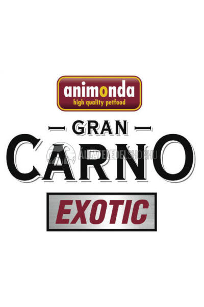 Animonda - Grancarno Exotic Bivaly alutasakos kutyáknak 125g